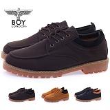 [보이런던]BOYLONDON -  402-zest 남성 가죽 캐주얼 로우 웰트화-3.5cm (브라운) 남자 제스트 랜드 워커 로퍼 구두 신발