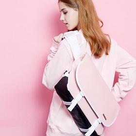 [핍스] PEEPS essential messenger bag(SL_pink) 에센셜 메신저 메신져 메신저백 메신져백 가방