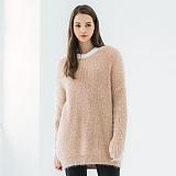[닙스]NIBS - Soft Round Neck Pullover knit NNT016W2603 소프트 라운드 넥 풀오버 니트