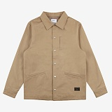 [위씨]WISSY - BASIC TWILL COACH JACKET (BEIGE) 코치자켓