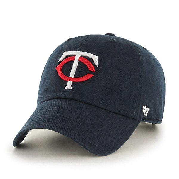 47브랜드 - MLB모자 미네소타 트윈스 네이비 볼캡 야구모자