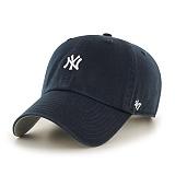 47Brand - MLB모자 뉴욕 양키즈 네이비 미니로고 볼캡 야구모자