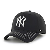 47Brand - MLB모자 뉴욕 양키즈 블랙 메쉬 볼캡 야구모자
