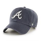 [엠엘비]MLB - 47브랜드 MLB모자 아틀란타 브레이브스 네이비 빈티지 볼캡 야구모자