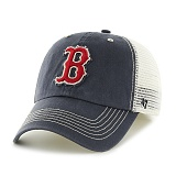 47Brand - MLB모자 보스톤 레드삭스 네이비메쉬 볼캡 야구모자