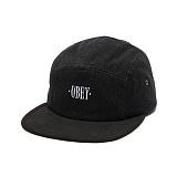 [오베이]OBEY - 16FW DESCHUTES 5 PANEL 100490015 (BLACK) 캠프캡