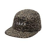 [오베이]OBEY - 16FW TRENCHES 5 PANEL 100490018 (ARMY CAMO) 캠프캡