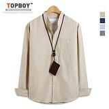 [탑보이] 차이나넥 옥스포드 긴팔셔츠 (DO061) 셔츠