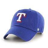 47Brand - MLB모자 텍사스 레인져스 블루 볼캡 야구모자