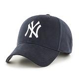 47Brand - MLB모자 뉴욕 양키즈 네이비 스트럭처 야구모자 볼캡