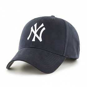 47브랜드 - MLB모자 뉴욕 양키즈 네이비 스트럭처 야구모자 볼캡