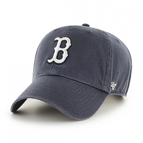 47브랜드 - MLB모자 보스톤 레드삭스 네이비 빈티지 야구모자 볼캡