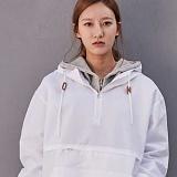 [어반플레이어스]ORIGINAL SOLID ANORAK (WHITE) 아노락 바람막이 자켓