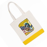 [비욘드클로젯X매니퀸] MILK A KING DOG PATCH ECOBAG