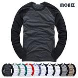 [모니즈]MONIZ 긴팔 나그랑 티셔츠 AAAA010 롱 슬리브