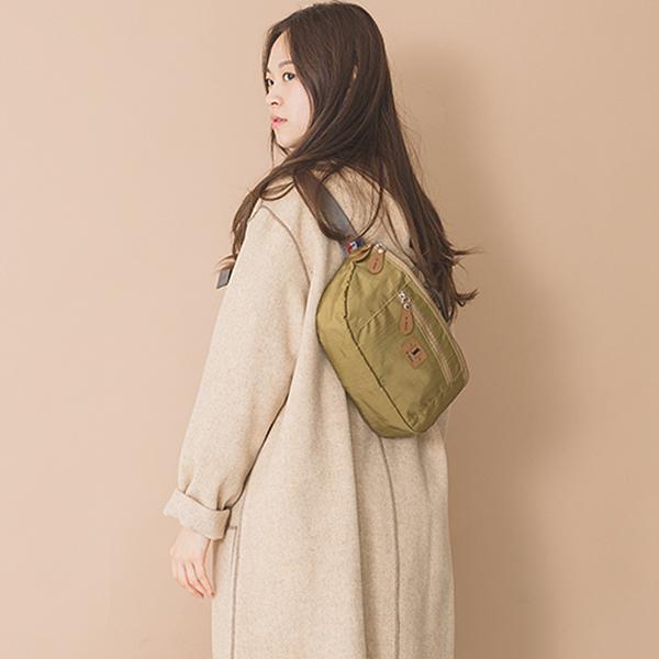 [르마인]Lemine - LE13FKH autumn 웨이스트백 카키 힙색