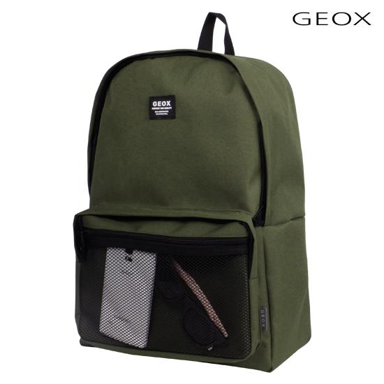 [제옥스]GEOX - RUNT2BACKPACK (KHAKI) 런트2백팩 카키_가방 데이백 네트백팩