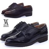 [에이벨류] 334-go688 남성 윙팁 옥스포드 구두-3cm (블랙.브라운) 남자 그래고 688 로퍼 신발 코디 가을