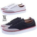 [에이벨류] 416-richuman 남성 캐주얼 댄디 스니커즈-3cm(블랙.화이트) 남자 리츠맨 신발 단화 코디
