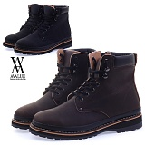 [에이벨류] 428-ruk 남성 마틴 모던 워커-3cm (블랙.브라운) 남자 루크 부츠 신발 캐주얼 하이탑