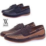 [에이벨류] 448-marble 남성 포멀 보트 스니커즈-2.5cm (블랙.브라운) 남자 마블 신발 단화 캐주얼 코디