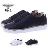 [보이런던]BOYLONDON - 431bl-diaz 남성 심플라인 키높이 스니커즈-5cm(블랙) 남자 디아즈 단화 신발 캐주얼 코디
