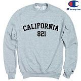 [Champion] 챔피온 CREW CALIFORNIA 821 - GREY 기모맨투맨