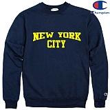 [Champion] 챔피온 CREW NEW YORK CITY 기모맨투맨 NAVY
