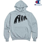 [Champion] 챔피온 Pullover Hood AIR STAR GREY 기모후드티 정품 국내배송