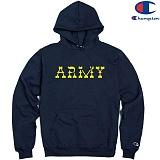 [Champion] 챔피온 Pullover Hood ARMY NAVY 기모후드티 정품 국내배송