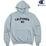 [Champion] 챔피온 Pullover Hood CALIFORNIA 821 GREY 기모후드티 정품 국내배송