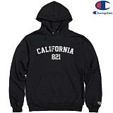 [Champion] 챔피온 Pullover Hood CALIFORNIA 821 BLACK 기모후드티 정품 국내배송
