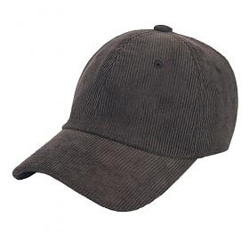 [에이비로드]ABROAD - Corduroy A Ball Cap (gray) 코듀로이 골덴 볼캡 야구모자