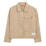 [에이비로드]ABROAD - Basic Jacket (beige) 자켓