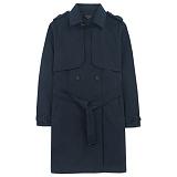 [에이비로드]ABROAD - Classic Trench Coat (navy) 트렌치 코트