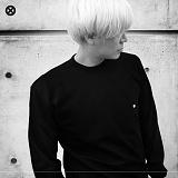 [코싸] koxa logo16 mtm black 맨투맨