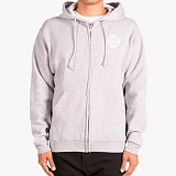 [도프]DOPE Monogram Zip-Up Hoodie (Grey)후디 후드집업