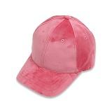 [세븐틴스] SEVENTEENTH VELVET CAP - PINK 볼캡 야구모자