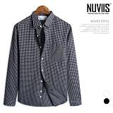[뉴비스] NUVIIS - 코튼체크 긴팔셔츠(DS041SH)