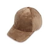 [세븐틴스] SEVENTEENTH VELVET CAP - BEIGE 볼캡 야구모자
