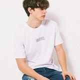 [어반플레이어스]HAND WRITING LOGO SHORT SLEEVE T-SHIRTS (WHITE) 티셔츠 반팔티