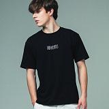 [어반플레이어스]HAND WRITING LOGO SHORT SLEEVE T-SHIRTS (BLACK) 티셔츠 반팔티