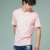 [어반플레이어스]TAIL LOGO SHORT SLEEVE T-SHIRTS (PINK) 티셔츠 반팔티