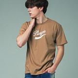 [어반플레이어스]TAIL LOGO SHORT SLEEVE T-SHIRTS (BEIGE) 티셔츠 반팔티