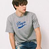 [어반플레이어스]TAIL LOGO SHORT SLEEVE T-SHIRTS (GRAY) 티셔츠 반팔티
