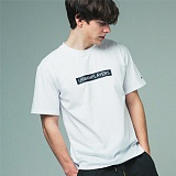 [어반플레이어스]RECTANGLE PRINT SHORT SLEEVE T-SHIRTS (WHITE) 티셔츠 반팔티