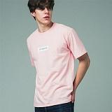 [어반플레이어스]TWO TONE BOX SLEEVE T-SHIRTS (PINK) 티셔츠 반팔티