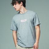 [어반플레이어스]TWO TONE BOX SLEEVE T-SHIRTS (GRAY) 티셔츠 반팔티