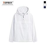 탑보이 - 노멀스트릿 아노락 후드 티셔츠 (RW236)