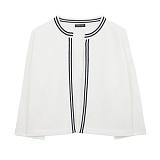 [에이비로드]ABROAD - Basic Classic Cardigan (white) 가디건